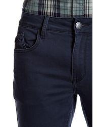 Ezekiel Blue Tinker Straight Leg Pants for men
