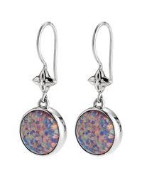 Lori Bonn - Purple True Colors Sterling Silver On Cloud Nine Earrings - Lyst