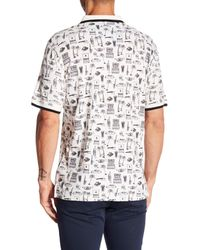 Robert Graham - White Missile Short Sleeve Classic Fit Knit Polo for Men - Lyst