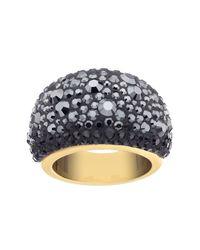 Swarovski | Black Mini Chic Ring - Size 52 (us 6) | Lyst