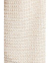 Caslon - Natural Caslon Textured Cardigan - Lyst