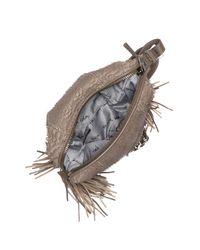 Ash - Gray Metal Chain Detail Bag - Lyst