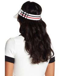 Steve Madden - White Meshed Up Visor - Lyst