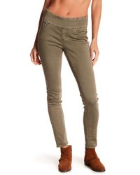 Jag Jeans Green Nora High Rise Skinny Pull-on Jeggings