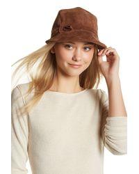 Eric Javits | Multicolor Cap D'hiver Genuine Suede Hat | Lyst