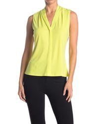 Calvin Klein Yellow V-neck Cami