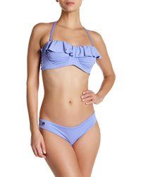 Maaji | Purple Lavender Shore Underwire Reversible Bikini Top | Lyst