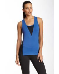 Threads For Thought - Blue Iris Colorblock Tank - Lyst