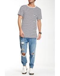 J Brand Blue Tyler Slim Fit Jeans for men