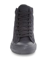 Converse - Black Chuck Taylor(r) All Star(r) Shield Water Resistant High Top Sneaker (men) for Men - Lyst