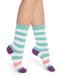 Paul Smith - Multicolor Fearne Stripe Crew Socks - Lyst