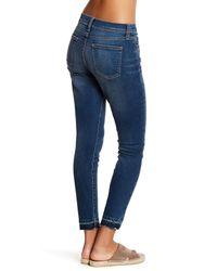 Current/Elliott Blue The High Waist Stiletto Jean