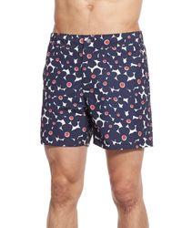 Bonobos | Blue 'fresno Floral' Board Shorts for Men | Lyst