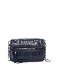 Sorial | Blue Carmella Leather Crossbody | Lyst
