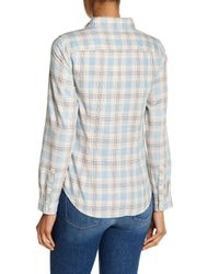 Levi's - Blue Classic Long Sleeve Tailored Fit Shirt - Lyst