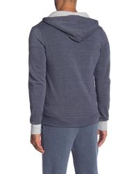 Alternative Apparel - Blue Rocky Colorblock Hoodie for Men - Lyst