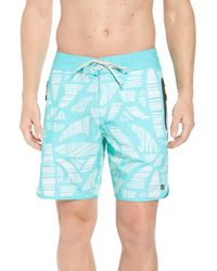 Quiksilver Blue Odysea Board Shorts for men