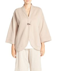 Carole Hochman | Natural Quilted Wrap Robe | Lyst