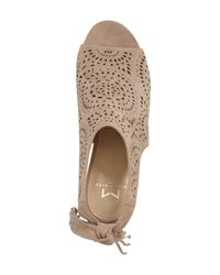 Marc Fisher - Brown Stacie Wedge - Lyst
