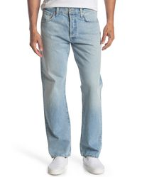 Citizens of Humanity Blue Dillon Authentic Straight Fit Jeans for men