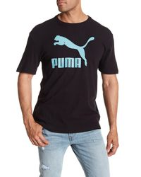 PUMA - Black Archive Life Graphic Tee for Men - Lyst