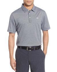 Travis Mathew | Gray Roddick Polo Shirt for Men | Lyst