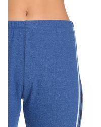 Wildfox Blue Hearts Print Desiree Pants