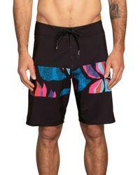 "Volcom Black Macaw Mod 20"" Boardshort for men"
