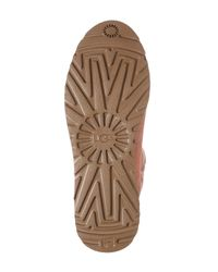 Ugg - Brown Amie Slim Waterproof Genuine Shearling Lined Short Boot - Lyst
