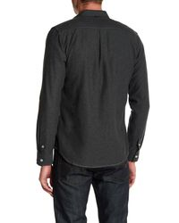 Descendant Of Thieves - Green Long Sleeve Twill Shirt for Men - Lyst