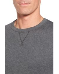 tasc Performance Gray Legacy Crewneck Sweatshirt for men