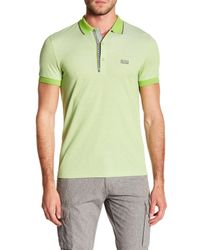 BOSS - Green Paule Slim Fit Shirt for Men - Lyst
