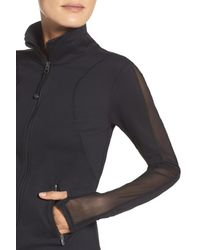 Zella - Black Stardust Training Jacket - Lyst