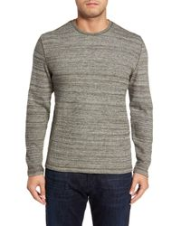Nordstrom Gray Waffle Knit Shirt for men