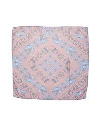 Treasure & Bond - Pink Prism Medallion Square Scarf - Lyst