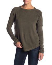 Sweet Romeo - Brown Solid Raglan Sweater - Lyst