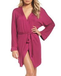 Honeydew Intimates - Pink Jersey Robe - Lyst