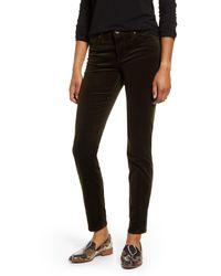 Kut From The Kloth Black Diana Stretch Corduroy Skinny Pants