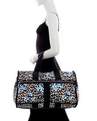 LeSportsac - Blue Nylon Cr Large Weekend Bag - Lyst