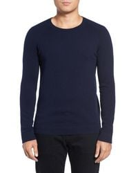 Theory - Blue Donners Cashmere Sweater for Men - Lyst