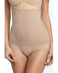 Spanx | Natural Higher Power Shaping Brief | Lyst