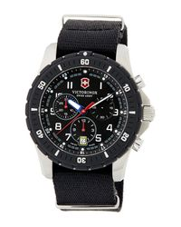 Victorinox - Black Men's Maverick Chronograph Sport Watch for Men - Lyst