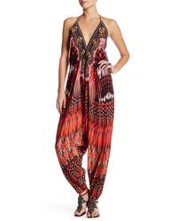 Shahida Parides | Red Printed Harem Jumpsuit | Lyst