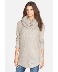 Dreamers By Debut - Multicolor Cowl Neck Sweater - Lyst