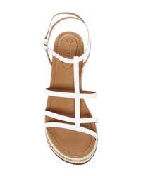 Corso Como - White Codi Wedge Sandal - Lyst