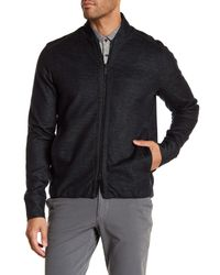Good Man Brand - Black Modern Slim Fit Bomber Jacket for Men - Lyst