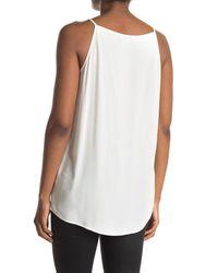 AllSaints White Isabell Sleeveless Top