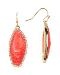BaubleBar | Multicolor Stone Drop Earrings | Lyst