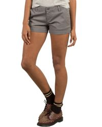Volcom - Gray Frochickie Chino Shorts - Lyst