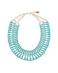 BaubleBar | Blue Riviera Collar Necklace | Lyst